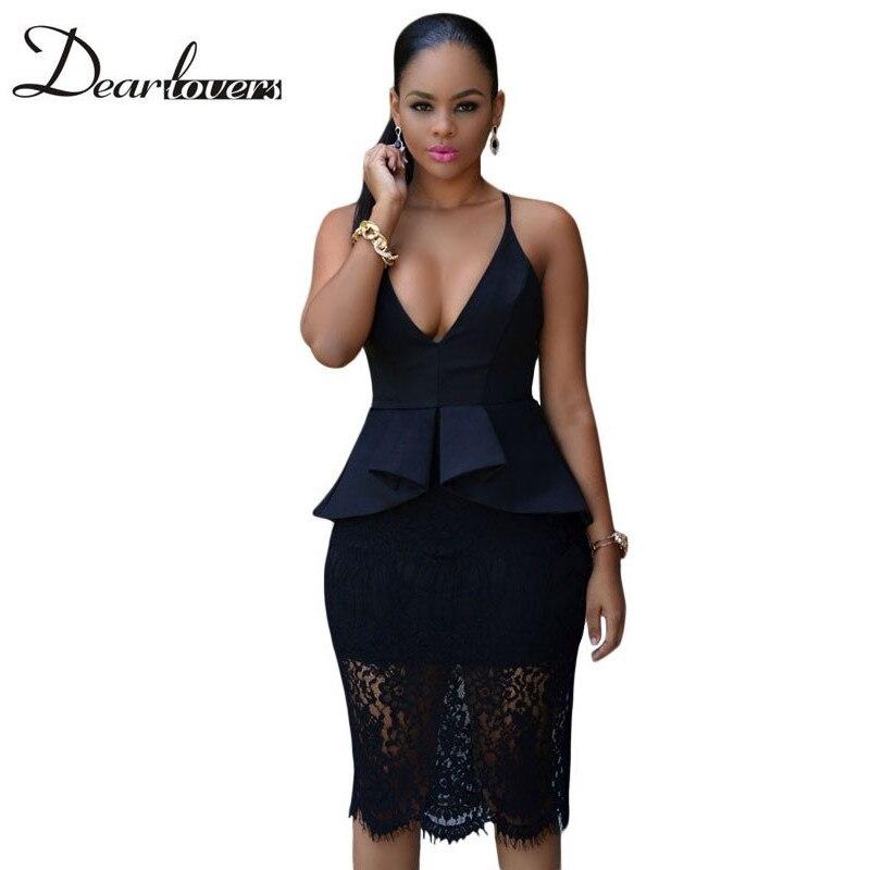 black lace peplum dress page 1 - bcbg