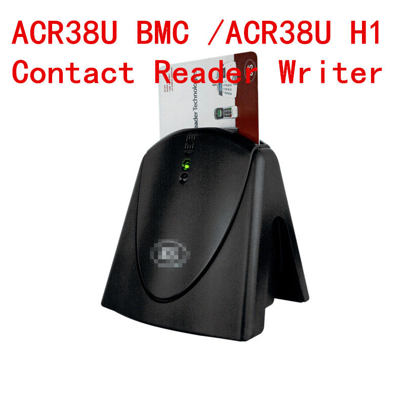 USB Contact Smart IC Chip Card Reader & Writer & Programmer ACR38U-H1/ACR38U BMC With SDK+2PCS Sle4442 Card Free ship лампа navigator 61 323 ndf d012 8w 5k bl led black