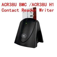 USB kontakt inteligentny IC czytnik kart chipowych i pisarz i programista ACR38U H1/ACR38U BMC z SDK + 2 sztuk Sle4442 karta uwalnia statek