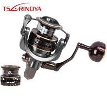 Tsurinoya 9 + 1BB Jaguar 4000 Spinning Reel Fishing Reel Bobina Dupla 5.2: max Arraste 1 7 kg Roda Bobina de Moulinet Carretilhas De Pescaria(China)