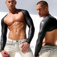 최고 품질 남성 블랙 긴 소매