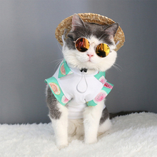 1pcs Pet Summer Supplies Cat Dog Glasses Decorations For Little Eye-wear Sunglasses Photos Props Accessories