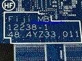 Estoque de trabalho + frete grátis 721523-601 48.4yz33.011 mainboard laptop motherboard para hp probook 450 470 440 g0 notebook