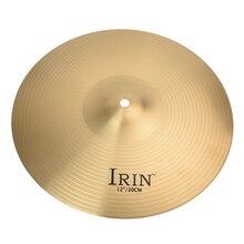 High Quality 12″ Brass Crash Ride Hi-Hat Cymbals Box Drum Set Professional S2K1