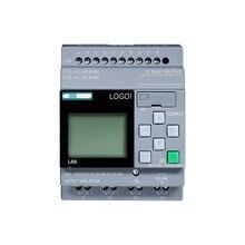 6ED1052-1MD08-0BA0 логотип 12/24RCE не встраеваемых штекеров Дисплей Модуль 12/24V DC/реле 8 DI 4AI 6ED1 052-1MD08-0BA0 ПЛК