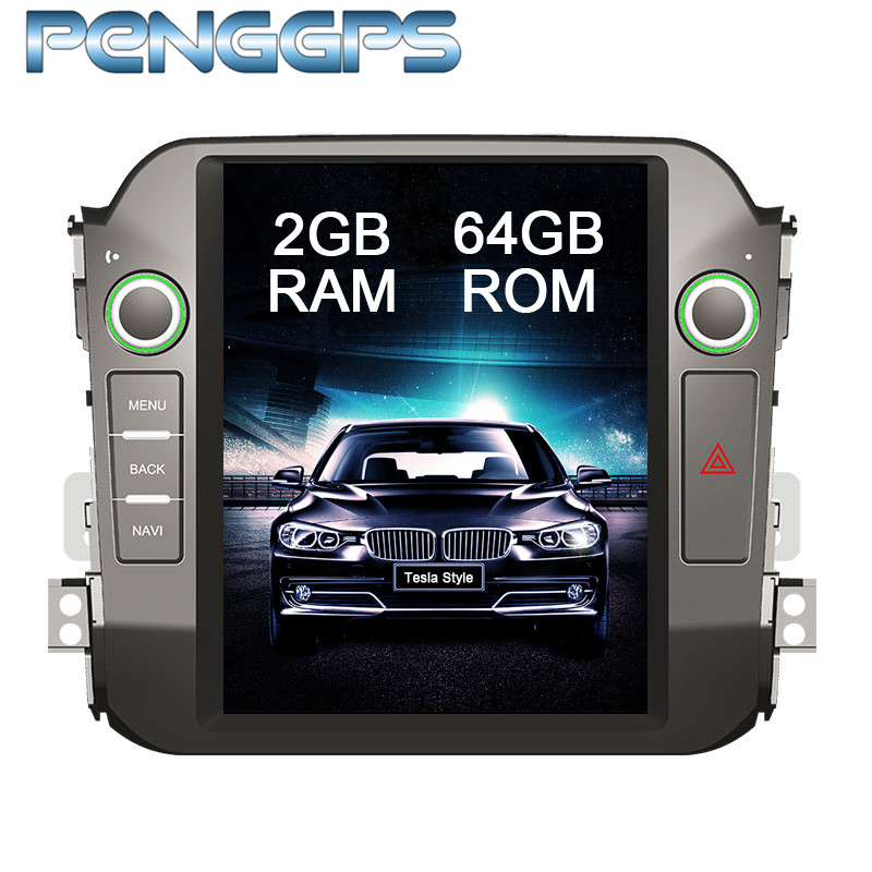 Tesla Style IPS Screen Car GPS for Kia Sportage R 2010 2015 Navigation NO DVD Player