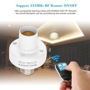 Image 4 - Sonoff claqueur E27 support de lumière universel Wifi claqueur RF 433mhz télécommande sans fil support dampoule pour la maison intelligente sur Mobile