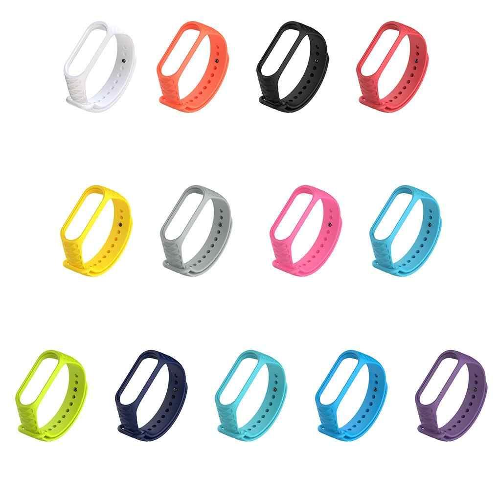 Hohe Qualität Für Xiao mi mi Band 3 TPU Bunte Strap-Armband Ersatz Smart Sport Uhr Handgelenk Band