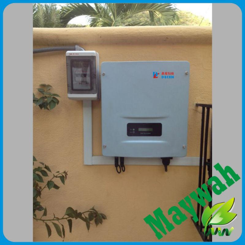 MAYLAR@ The Best String Solar Grid Tie Inverter 4KW 220VAC 50Hz/60Hz 97%High Efficiency High Quality For Solar Home System