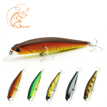 Thritop NEW Minnow Lure Professional Artificial Hard Bait TP078 5 Colors for Choose 11.3cm 14g Fishing Tackle Tools