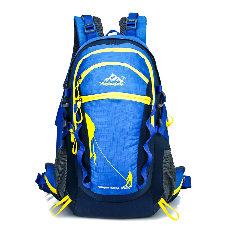 цены Outdoor Sports Bag Camping Hiking Men Women Backpack Traveling Trekking Rucksack Mountain Climbing Equipment 40L bagpack