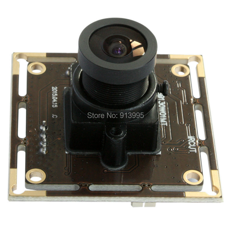 1.3mp HD 960P HD security linux Mini usb web camera board with 2.1mm Wide Angle lens for atm machine ELP- USB130W01MT-L21
