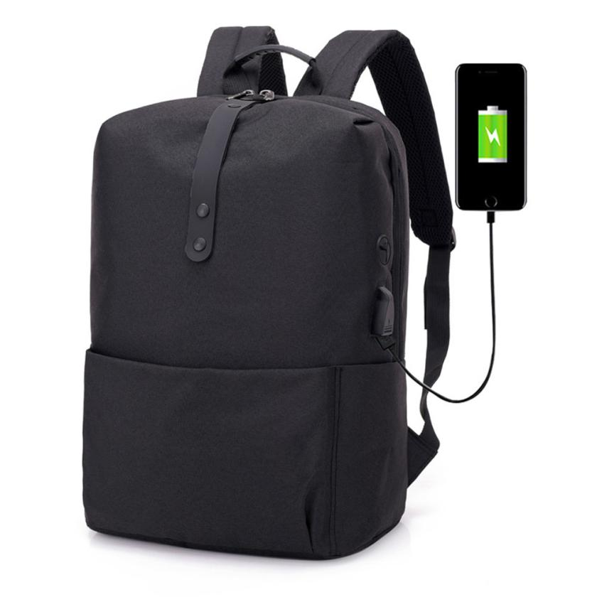 15 Inch 16 Inch Multifunction USB Backpack Men Laptop Bag Oxford School Bags Travel Backbag Mochila Masculina