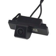 Câmera traseira de visão do carro grande angular para peugeot 308 (2008-), 407 (2004-2011), 408 (2012-), 301 (2013), 308sw (2008-)