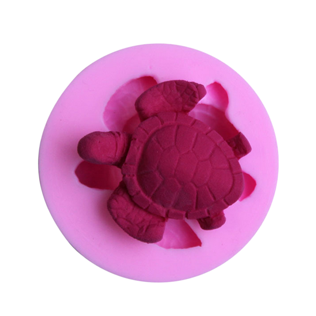 DIY Sea Turtle Cake Decorating Tools Fondant Chocolate Pudding Silicone Cake Mold Baking Tools Tortoise Pastry Soap