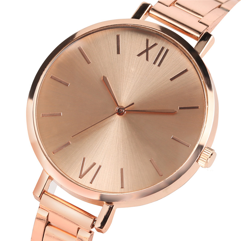 Fashion Women Watches Luxury Silver/Gold/Rose Gold Quartz Watch Stainless Steel Ladies Wristwatches Woman's Clock 2018 Gifts 2016 new fashion women watch women wrist watch quartz watches analog stainless steel bracelet luxury gifts for ladies rose gold