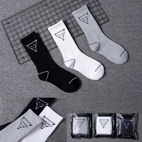 Hirigin 2017 Global Free Shipping 100% Pure Cotton Mens Socks Men Dress Socks Solid Color Crew Socks For Men Hot Seliing Style
