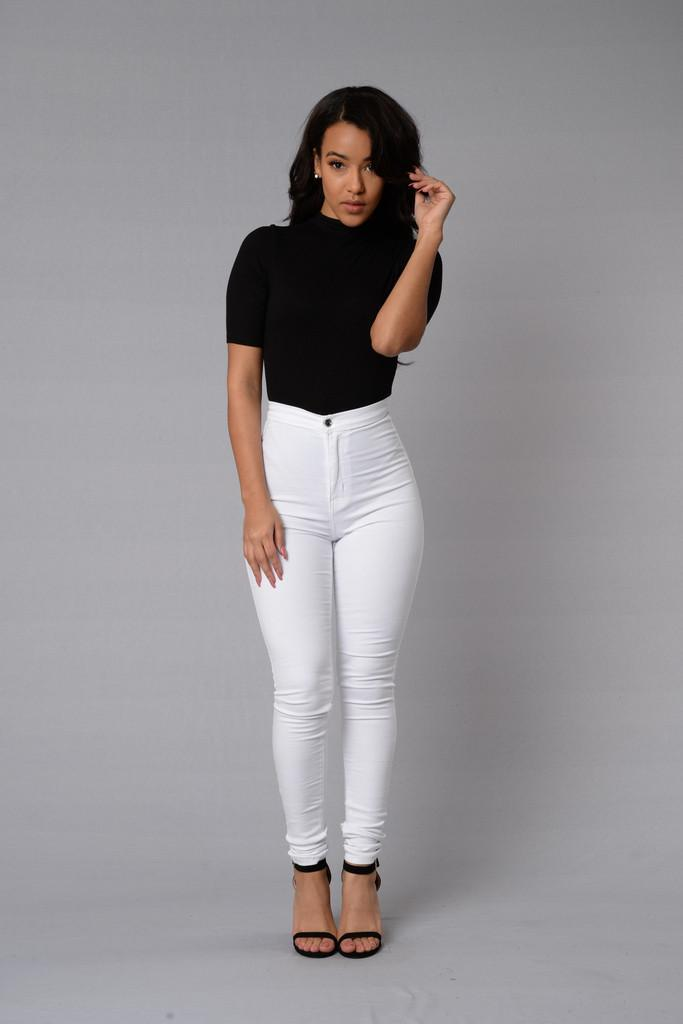 Women Vintage High Waist Jeans Pencil Stretch Denim Pants Female Slim Skinny Trousers Plus Size Calca Jeans rosicil new women jeans low waist stretch ankle length slim pencil pants fashion female jeans plus size jeans femme 2017 tsl049