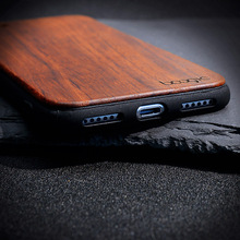 Bamboo Wooden TPU Embossed Cases For iPhone