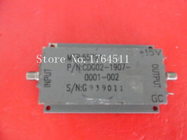 [BELLA] CDG02-1907-0001-002 0.2-18GHz G:35dB 15V SMA Supply Amplifier