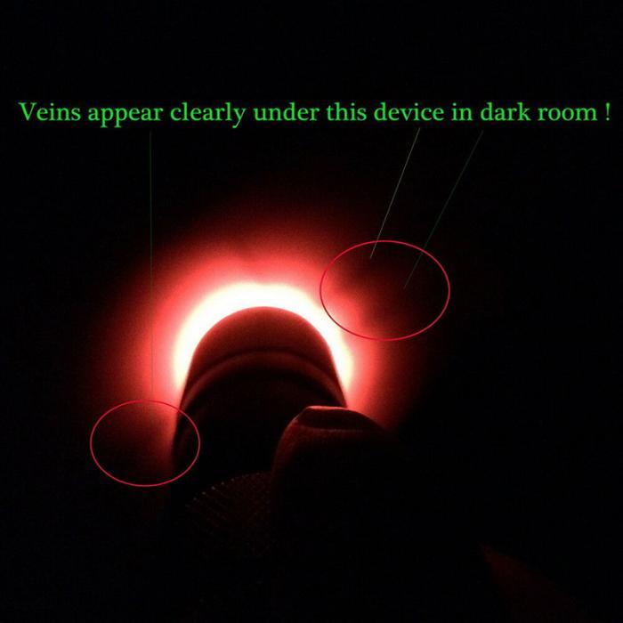 Портативный красный светодиодный фонарик Вену Finder инструмент Transilluminator вены просмотра TSH магазин