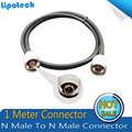 High-quality 1 Meters Coaxial Cable N Male To N Male Connector For Mobile Phone Signal Booster Repeater Amplifier