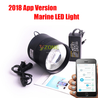 App Control Bluetooth Aquarium White And Blue Marine LED With Customized Working Mode with Time Function Aquatic Tube lamp