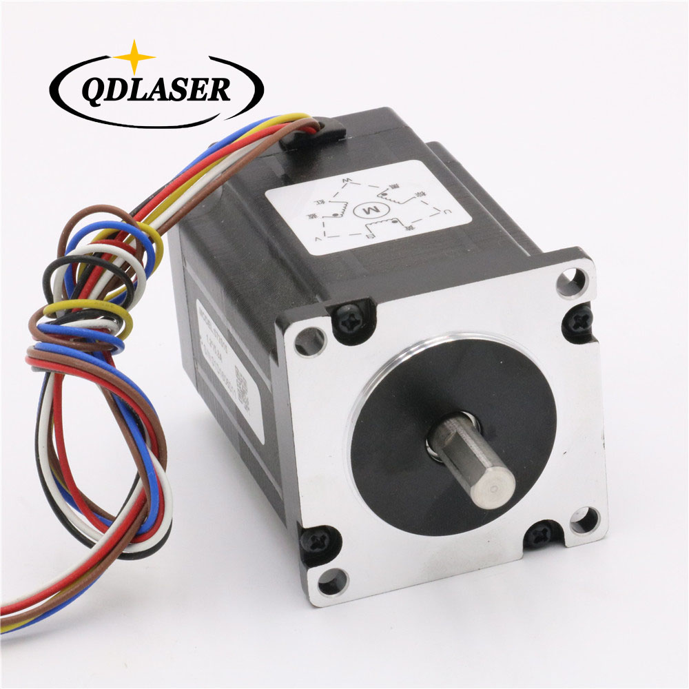 Leadshine 3 Phase Stepper Motor 573S15 for Laser Engraving Cutting Machine  NEMA 23 Stepper Motor leadshine 3 phase stepper motor 863s68h 3phase step motor laser engraver machine cnc router