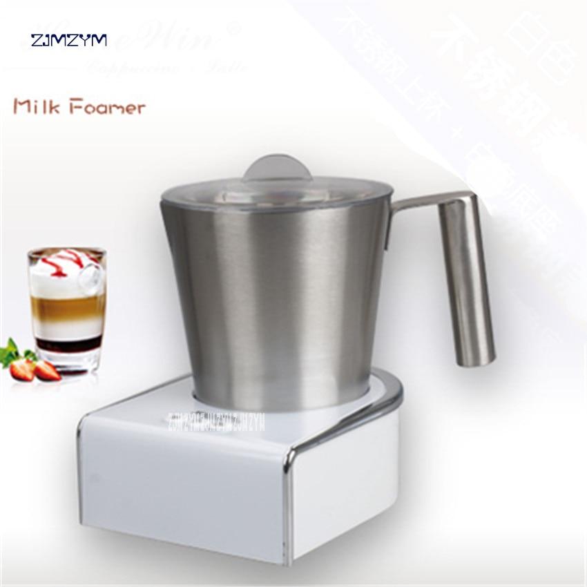 F280A Hot and cold electric milk machine household milk heated bubbler coffee milk foam pot 220Vautomatic milk machine 150-250ml russia condensed milk
