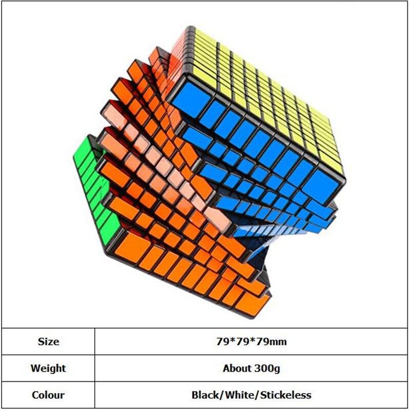 3x3 333 preto stickerless cubo 04
