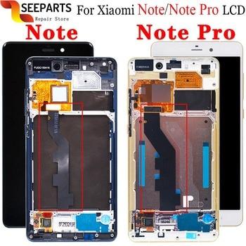 """5,7 """"FHD Xiaomi mi Note Pro pantalla LCD con montaje de digitalizador con pantalla táctil 2560x1440 Xiaomi mi Note Pro LCD piezas de repuesto"""