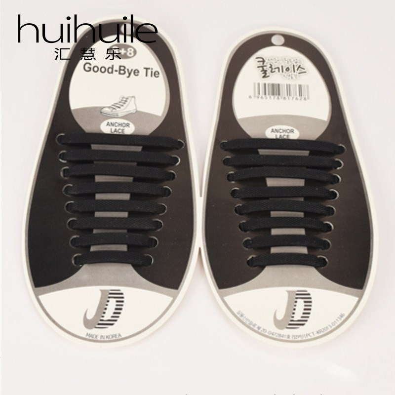 16Pcs/Set Hot Sales New 13 Colors Silicone Elastic Shoelaces No Tie Shoe Laces Running Sport Sneakers Strings Strap Lacet