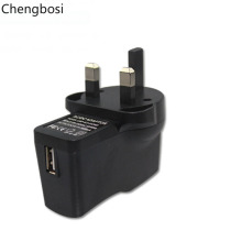 цена на 10W 5V 2A UK Plug USB Wall Charger with Power IC Technology for IPhone, IPad, Samsung, Nexus, HTC,Xiaomi Laptops and More