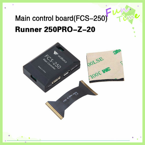 Walkera Runner 250 PRO-Z-20 Runner 250 Pro Main Control Board(FCS-250) Runner 250 Pro Spare Parts Free Track Shipping runner 250 z 22 red led light spare parts 2pcs f