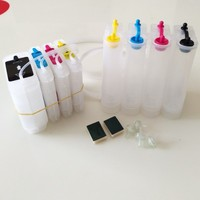 INK WAY ink supply system with latest chip for HP10 11for C4844A C4836 C4837 C4838 for HP HP1000 2000 CP1700 2600 Design100