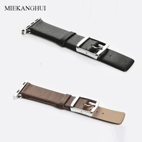 MEIKANGHUI Genuine Leather Watchbands Fits all of Apple Watch Series 38mm 42mm iwatch Strap Women &Men High Quality