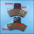 Rear Carbon Brake Pad For LINHAI 260CC Goon Goon260 2007 2008 2009