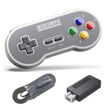For 8Bitdo 8 bit 2 4G Wireless Controller Gamepad For SFC Classic Edition Vibration Motion Controls
