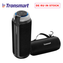 [IN STOCK]Tronsmart Element T6 25W DSP Portable Bluetooth Speaker with 360 Stereo Sound Deep Bass outdoor portable mini Speaker(China)