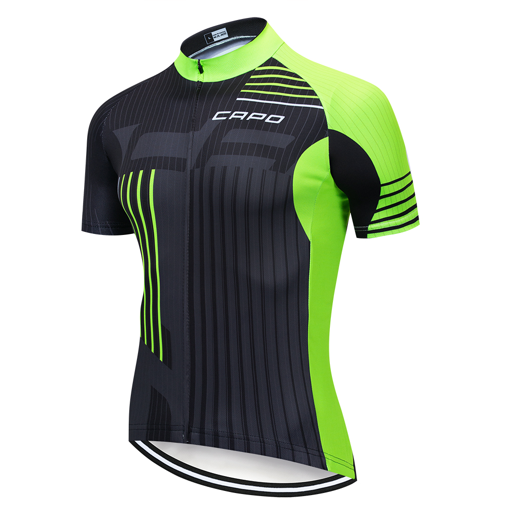 2019 Capo Cycling Jersey Tops Summer Racing Cycling Clothing Short Sleeve