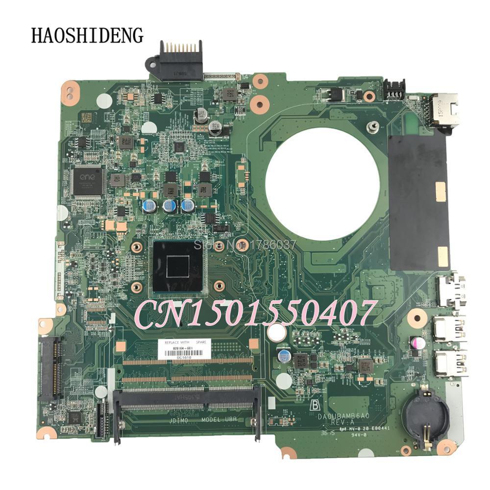HAOSHIDENG 828164-001 DA0U8AMB6A0 Laptop Motherboard For HP Pavilion 15 15-F Motherboard haoshideng 828164 001 da0u8amb6a0 laptop motherboard for hp pavilion 15 15 f motherboard