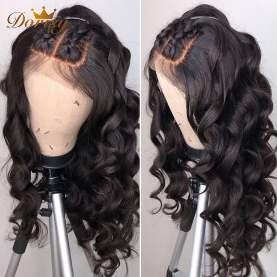 Lace Front Human Hair Wigs Closure Wig Human Hair Wig For Black Women Lace Closure Wig Dorisy Non Remy 4*4 Lace Front