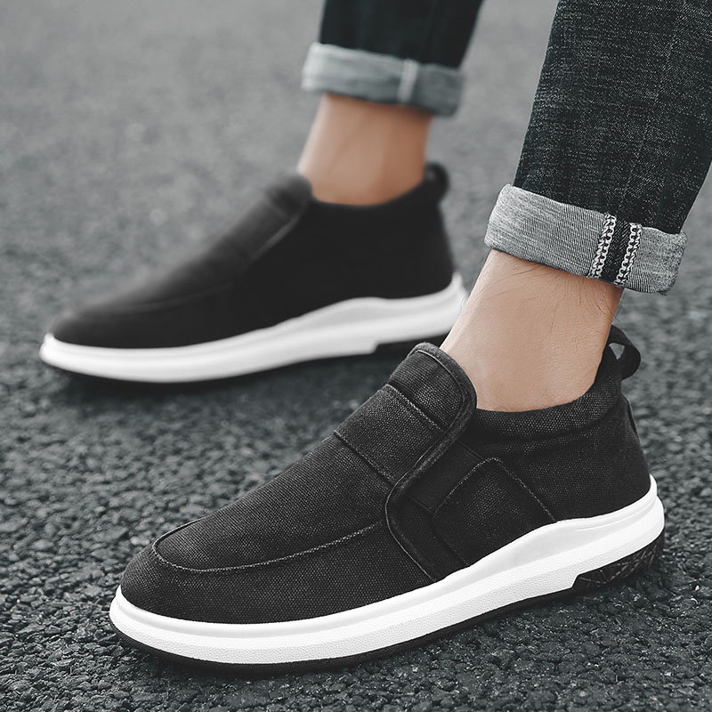 2018 Spring Men Adult Slipony Canvas Espadrilles Shoes Male Casual Sneakers Office Slip on Red Flats Breathable Krasovki Shoes