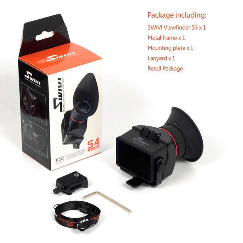 "GGS Swivi S4 3.0x3.0 ""16:9 LCD كاميرا عدسة الكاميرا لسوني a7 a7R a7S NEX-7 NEX-6 NEX-5R NEX-5T a6000 A5000 DSLR عرض الباحث"