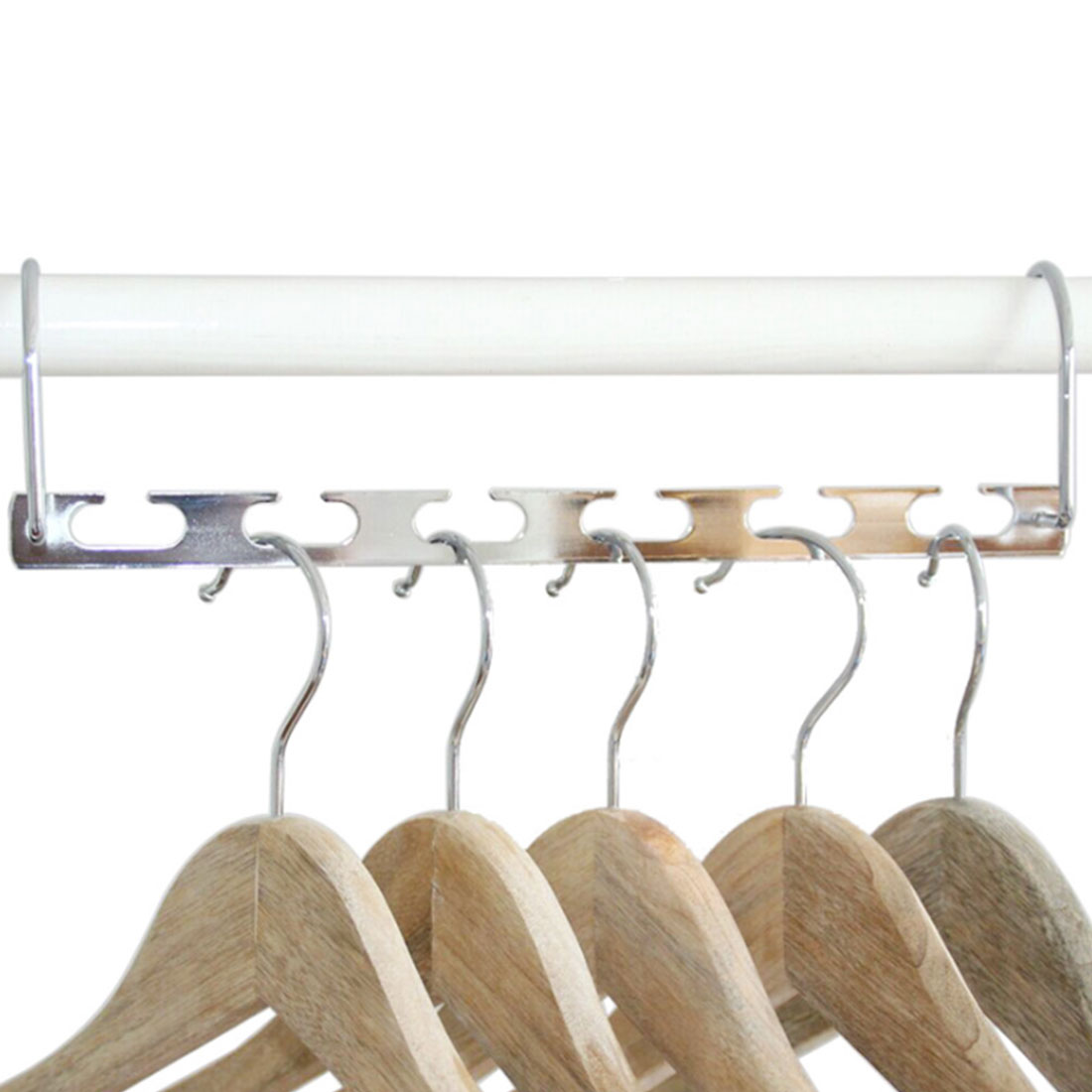 Sensational Us 2 09 7 Off Wardrobe Closet Bar Clothes Coat Hanger Organizer Wonder Hanger Iron Multifunctional Metal Cascading Organiser For Space Saving In Download Free Architecture Designs Photstoregrimeyleaguecom
