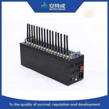 SIMCOM 3g 16 port modem pool, wcdma sim5320e 16 port 3g modem pool, bulk sms device modem 16 port