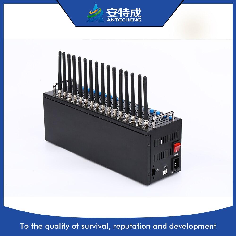 SIMCOM 3g 16 ports modem pool, wcdma sim5320e 16 ports 3g modem pool, en vrac sms périphérique modem 16 ports