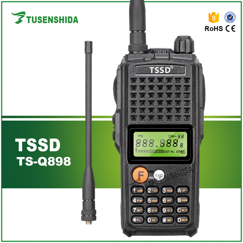 New Arrival Powerful 10W High Capacity Battery Wireless Amateur Portable Two Way Radio TS-Q898New Arrival Powerful 10W High Capacity Battery Wireless Amateur Portable Two Way Radio TS-Q898
