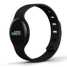 Pulseira relógio bluetooth inteligente pulseira pedômetro atividade rastreador de fitness esporte smartbracelet para smartphones relógio casima h8