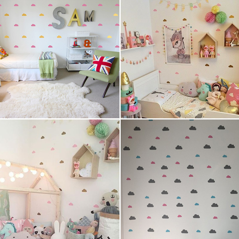 Little Cloud Decorative Stickers For Baby Boy Rooms Best Children's Lighting & Home Decor Online Store